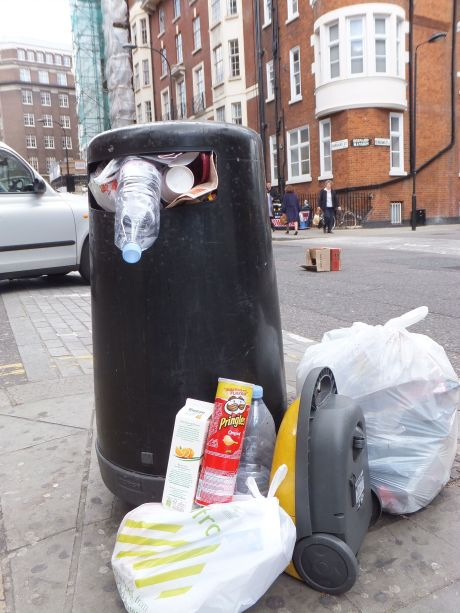 """The Trash of London"" (2013) by Eilif Verney-Elliott"