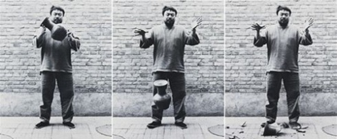 """""""Dropping a Han Dynasty Urn"""" by Ai Weiwei Courtesy of ameliagroom.com"""