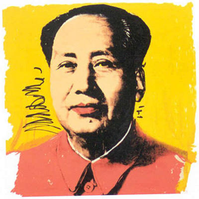 """Andy Warhol's """"Mao"""""""
