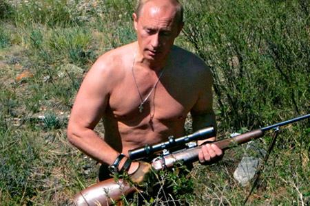 Vladimir Putin, Not a Man without a Chest!