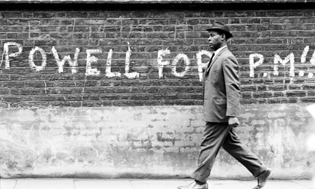 1968 Graffiti Calling for Enoch Powell, Fascist, Racist to be PM in UK